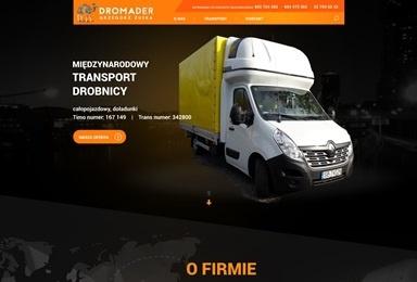 Dromader - Transport międzynarodowy